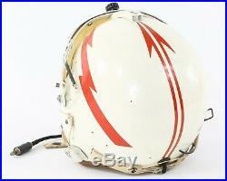 Korean War 1953 USAF Air Force P-1B Flight Helmet withSquad Colors, Electronics +