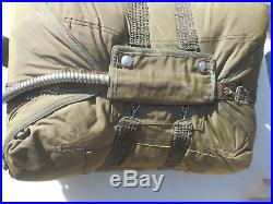Korean War 24 Ft Seat Pack Parachute Dated 1954 MFG Pioneer Parachute CO