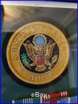 Korean War 24th Infantry Division Medals SFC