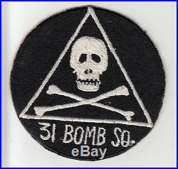 Korean War 92nd Bombardment Squadron Patch / Aviation Insignia