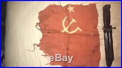 Korean War Bringback Hammer And Sickle Flag