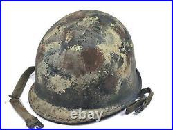 Korean War Camouflage USA M1 Helmet