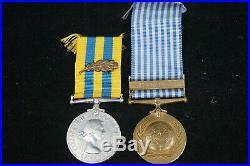 Korean War Canadian MID Medal Group Named Pominville