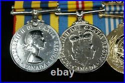 Korean War Canadian Medal Grouping Named to Horel