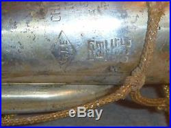 Korean War Captured Chinese BUGLE, Inscribed Chipyong-Ni Co. B 23rd Inf (US Army)