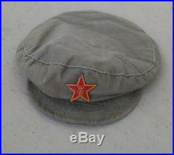 Korean War Chinese Communist Military Police cap PLA hat PVA CPV NK KPA patches