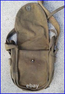 Korean War Chinese Communist PPS41 Ammo pouch bandoleer 1953 PVA captured KPA