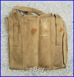 Korean War Chinese Communist PVA captured PPS43 mag rig KPA Nork ammo pouch 1953