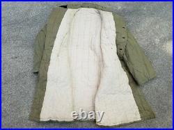 Korean War Chinese Padded Winter Overcoat uniform jacket PVA Nork KPA communist