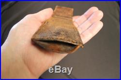 Korean War Chinese made leather bayonet frog for Japanese Arisaka CPV PVA RARE