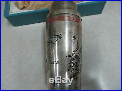 Korean War Drink Mixer From Px Sent Home By Soldier To Wife Cocktail Shaker
