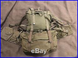 Korean War Era BAR Equipment Set M1945