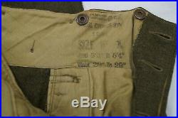 Korean War Era Canadian Airborne Royal Canadian Regiment Battledress & Trousers