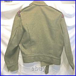 Korean War Era Canadian Officers Battledress Uniform 1 LAA RCA