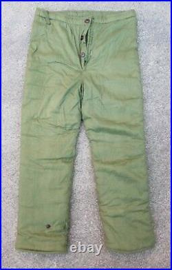 Korean War Era Chinese Communist Winter pants trousers PVA Nork KPA uniform