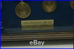 Korean War Era Lot Of Military Medals & Patches Rare Nice