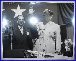 Korean War Era Original Photograph Famous General Douglas Macarthur
