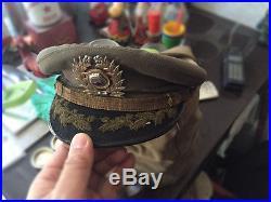 Korean War Era South Korean Army Colonel Visor Cap Chinese Army Bring Back