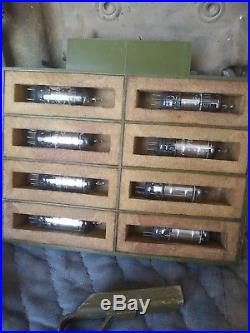 Korean War Era U. S. Army Detector, Mine With Contents Bulova Watch Co