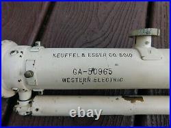 Korean War Era U. S. Military Telescope For System X-sam A-7 Missile Sysyem