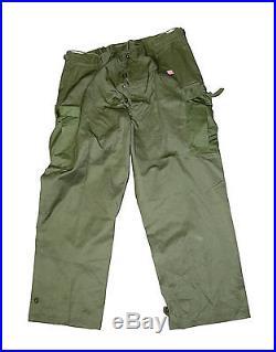 Korean War Era US Army M-1951 Field OD Large Pants Mint with Cutter Tags 29964