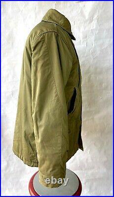 Korean War Era US Navy BUAERO AL-1 Flight Jacket USN Aviator Parka Pilot