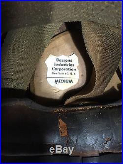 Korean War Era US Navy Fighter Pilot Flight Helmet