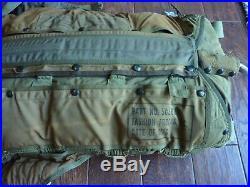 Korean War Era US Navy or Air Force Parachute USN/USAF B9 parachute PACK