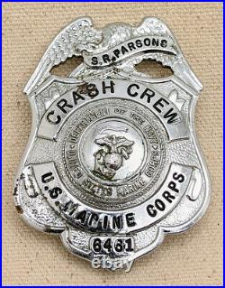 Korean War Era USMC Crash Crew Badge