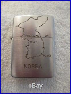 Korean War Era Zippo Lighter Named POW NNRC Swedish Group New unfired 2032695