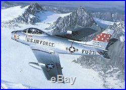 Korean War F-86F Sabre Factory Logo Rudder Pedal & Linkage Nice