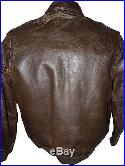 Korean War Fighter Pilot's A-2 Leather Jacket Shot Down Twice 67th FS 77th FS