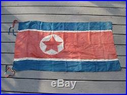Korean War Flag. Authentic / Original, 44x24. Very Rare Offering