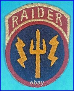 Korean War, GHQ 1st Raider Company Waterborne Unit SSI, FE, Exc. Cond