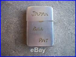Korean War Johnson Air Force Base Japan Pacific Asia Micronesia Zippo Lighter