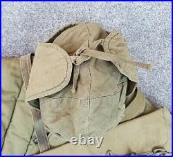Korean War KPA Nork Communist Winter Uniform Hat bandoleer belt PVA chinese cap