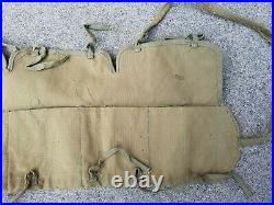 Korean War KPA Nork bandoleer ammo pouch belt PVA captured Chinese Communist