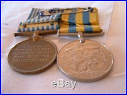 Korean War Medal Group Named To Australian Soldier George Wilson 2401236 2 Rar