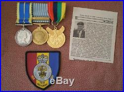 Korean War Medal Group to JOHNNY, Princess Patricia's Canadian Light Infantry