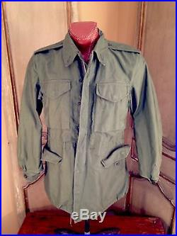 Korean War Military Army Field M 1951 Jacket! Mint! In Size Reg Small Collectors