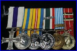 Korean War Military Cross MC Grouping To Maj Gardner Royal Canadian Regiment RCR