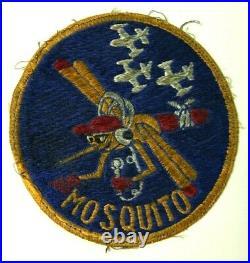Korean War Mosquito FAC Patch 6147th Tactical Air Control Gp Japanese Made