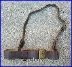 Korean War Nork KPA Officer belt Chinese Communist PVA captured