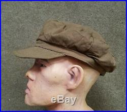Korean War Nork KPA summer hat cap dated 1953 Chinese Communist PVA captured