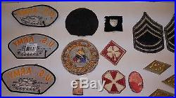 Korean War Patch Korea Tab Airborne Armored Force Army Ww2 Tank Destroyer A5 2nd