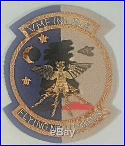 Korean War, Patch, USMC VMF(N)-513, Bullion, Japan Made