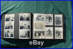 Korean War Photo Album Kadena Afb Okinawa 250+ Photos Descriptions On Back Each