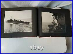 Korean War Photo Album US Bitter Birds 884 fighter Squadron USS Boxer 207 Photos