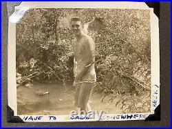 Korean War Photograph Album, Bathing Korean Women & GIs ID'd Soldiers 247 Photos