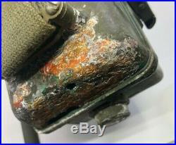 Korean War RT 196 Receiver Transmitter Radio Walkie Corrosion Please Read